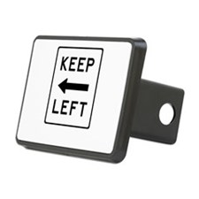 Keep Left Hitch Cover