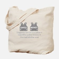 Castle and Beckett Tote Bag