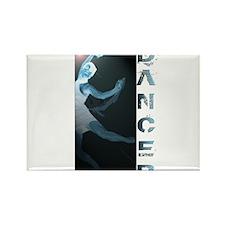 A Dancer Rectangle Magnet
