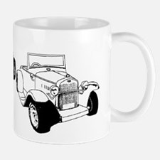 Roadsters parked Mug