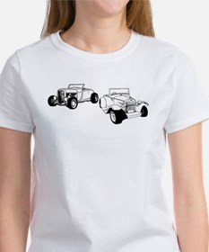 Roadsters parked Women's T-Shirt