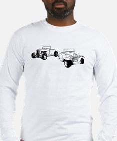 Roadsters parked Long Sleeve T-Shirt