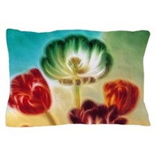 Tulips Under The Sky Pillow Case