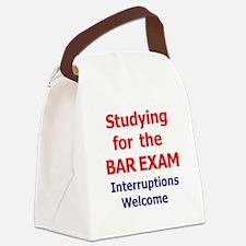 Bar Exam Canvas Lunch Bag