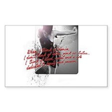Dance and Passion Decal
