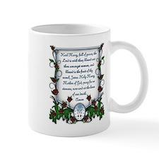 Hail Mary Small Mug