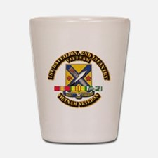 1st Battalion, 2nd Infantry Shot Glass