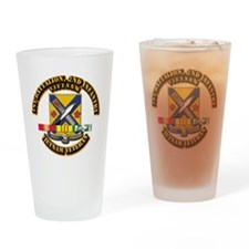 1st Battalion, 2nd Infantry Drinking Glass