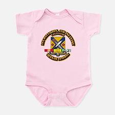 1st Battalion, 2nd Infantry Infant Bodysuit