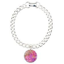 purple floral mix Bracelet