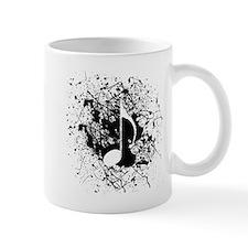 Music Splatter Mug