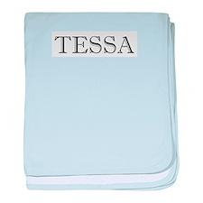 Tessa baby blanket