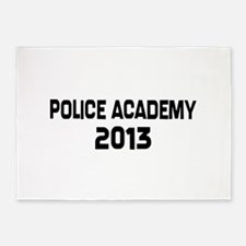 2013 Police Academy Grad 5'x7'Area Rug