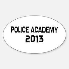 2013 Police Academy Grad Decal