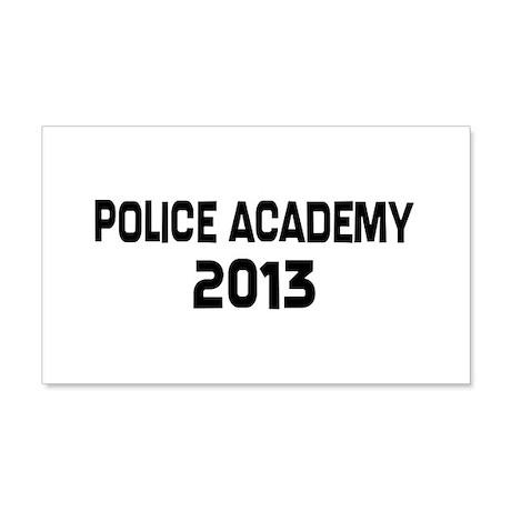 2013 Police Academy Grad 20x12 Wall Decal