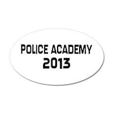2013 Police Academy Grad Wall Decal