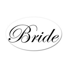 Bride's Wall Decal