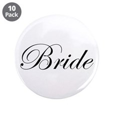 "Bride's 3.5"" Button (10 pack)"