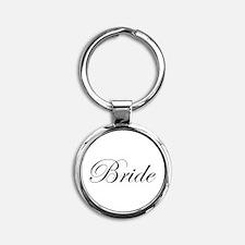 Bride's Round Keychain