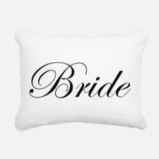 Bride's Rectangular Canvas Pillow