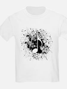 Music Splatter T-Shirt