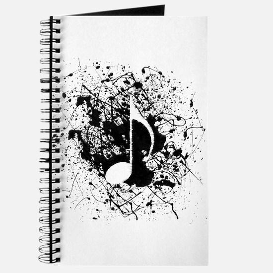 Music Splatter Journal