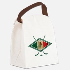 Hockey Sobre Hielo Mexico Canvas Lunch Bag