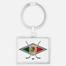 Hockey Sobre Hielo Mexico Keychains