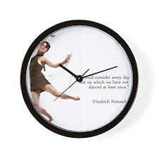 Dance Every Day Wall Clock