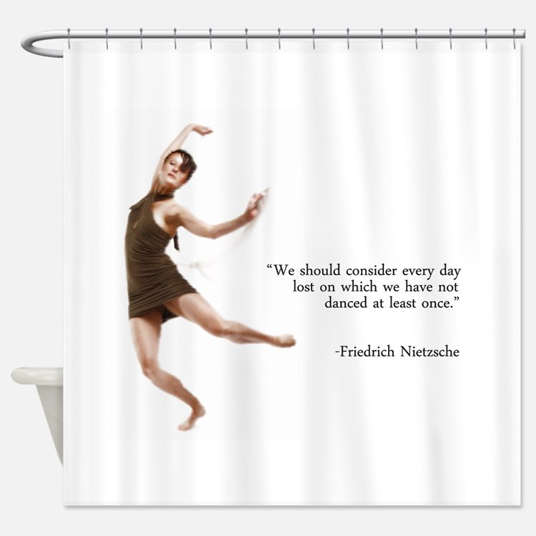 Dance Every Day Shower Curtain