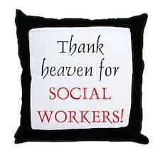 Thank Heaven SW BRT Throw Pillow