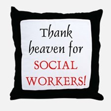 Thank Heaven SW BRT Throw Pillow