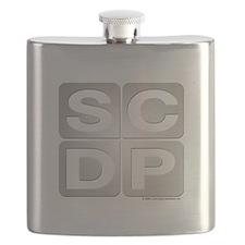 Sterling Cooper Draper Pryce Flask