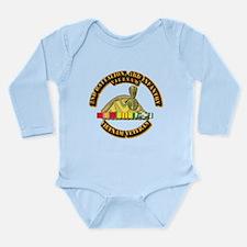 2nd Battalion, 3rd Infantry Long Sleeve Infant Bod