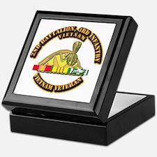 2nd Battalion, 3rd Infantry Keepsake Box