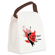Why Dance Canvas Lunch Bag