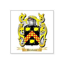 "Brisbane Square Sticker 3"" x 3"""