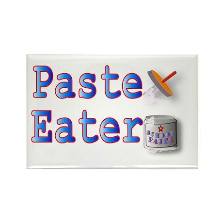 Paste Eater Rectangle Magnet