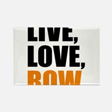 live, love, row Rectangle Magnet