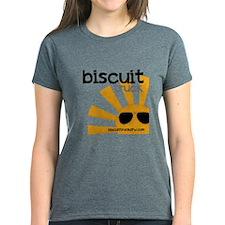 Biscuit Truck Womens Dark T-Shirt