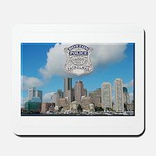 Boston Skyline Police Mousepad