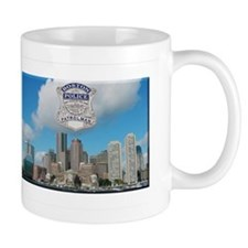 Boston Skyline Police Mug