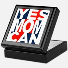 Yes Mom Can (light) Keepsake Box