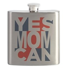 Yes Mom Can (light) Flask