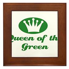 Queen of the Green Framed Tile