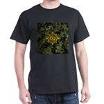 HFPACK Gold Insignia Woodland Camo on black Tee