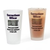 Correctional officer Pint Glasses