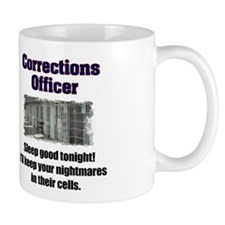 Corrections Officer Small Mug