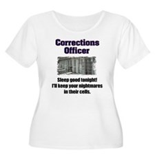 Corrections Officer Plus Size T-Shirt