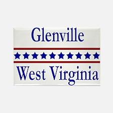 Glenville WV Rectangle Magnet